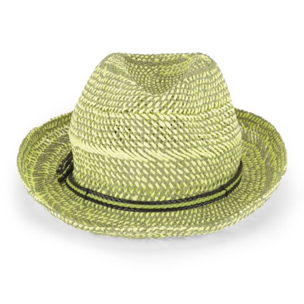 French Connection Daysha Straw Hat - Seagrass/Pineapple Fizz