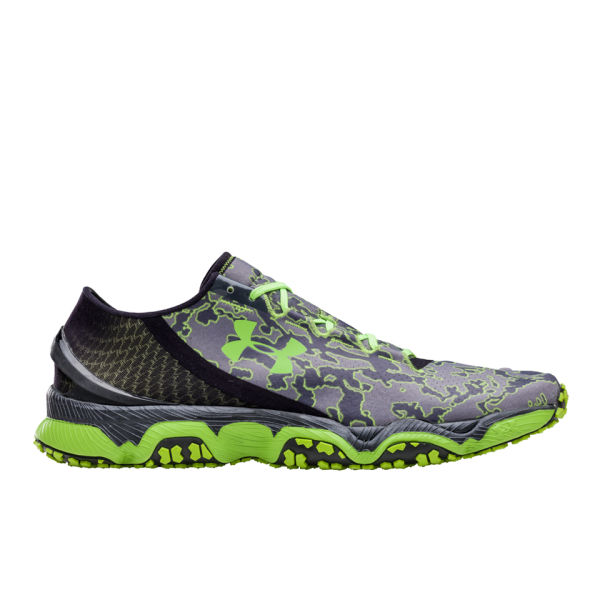 Under Armour Men S Sdform Xc Running Shoes Lead Graphite Hypergreen Image 1