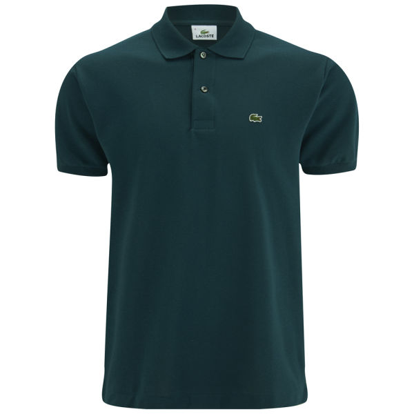 lacoste men 39 s polo shirt dark green free uk delivery