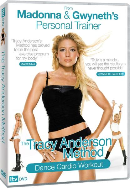 Madonna and Gwyneth's Personal Trainer The Tracy Anderson Method Dance Cardio Workout