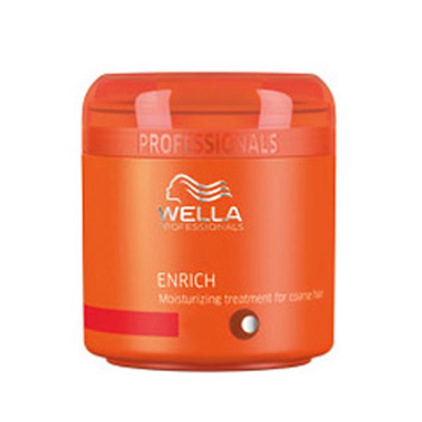Masque hydratant pour cheveux épais Wella Professionals Enrich (150ml)