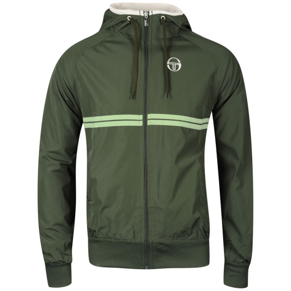 sergio tacchini mens texas jacket green clothing zavvi. Black Bedroom Furniture Sets. Home Design Ideas