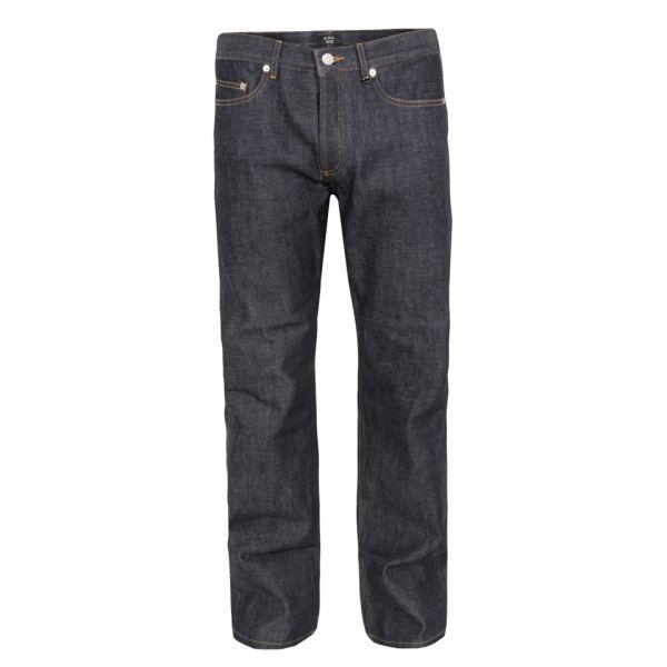 A.P.C. Men's Rescue Jeans - Indigo