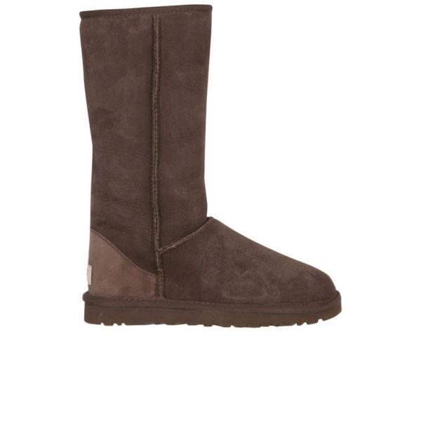 UGG Women's Classic Tall Sheepskin Boots - Chocolate