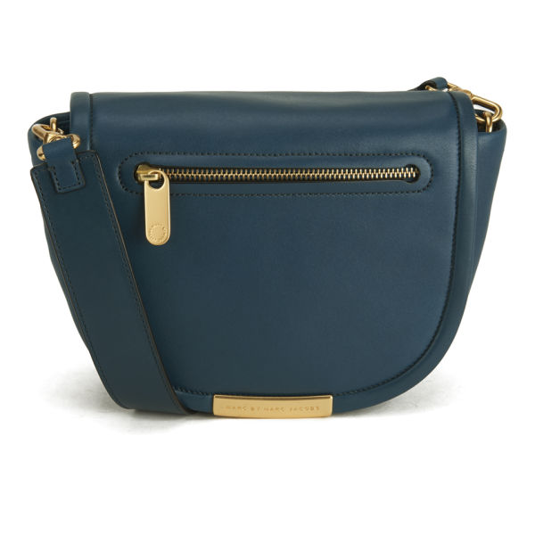 Marc by Marc Jacobs Luna Leather Small Crossbody Bag - Hopper Green