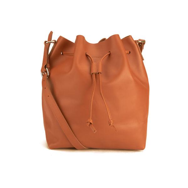 Sandqvist Women's Marianne Leather Bucket Bag - Cognac Brown