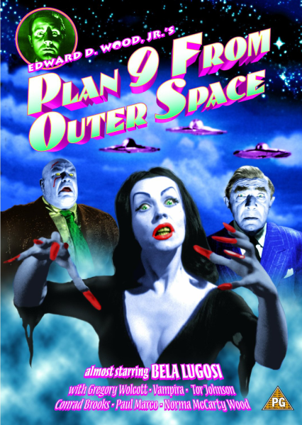 Plan 9 From Outer Space Dvd Zavvi