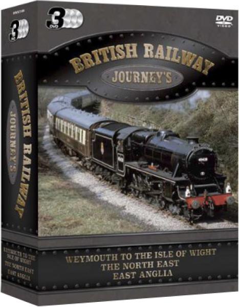 British Railway Journeys - Triple Pack