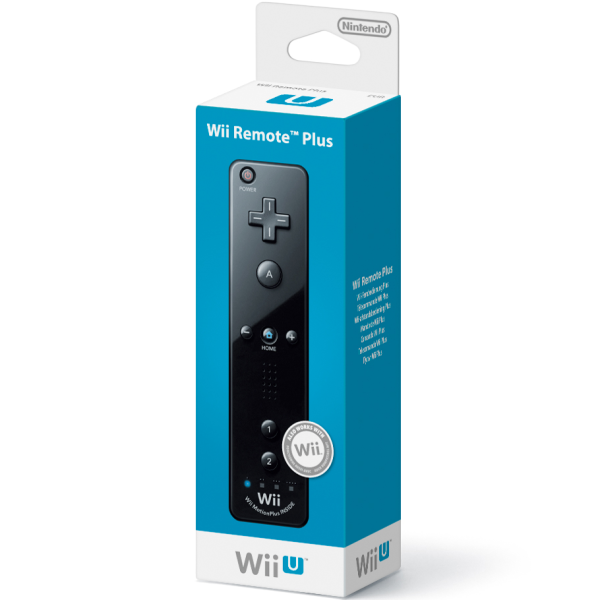 wii u remote plus black wii u accessories zavvi. Black Bedroom Furniture Sets. Home Design Ideas