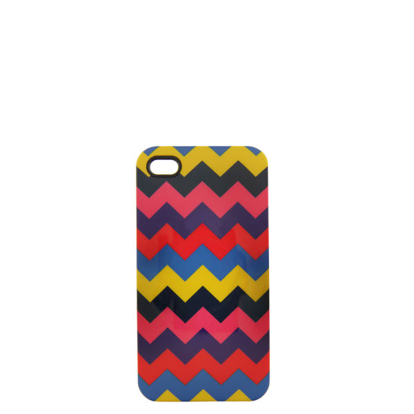 House of Holland Women's Zig-Zag iPhone 4 Case - Zig Zag
