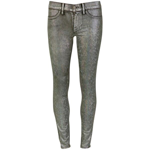 Wildfox Women's Marianne Mid Rise Skinny Jeans - Windchimes