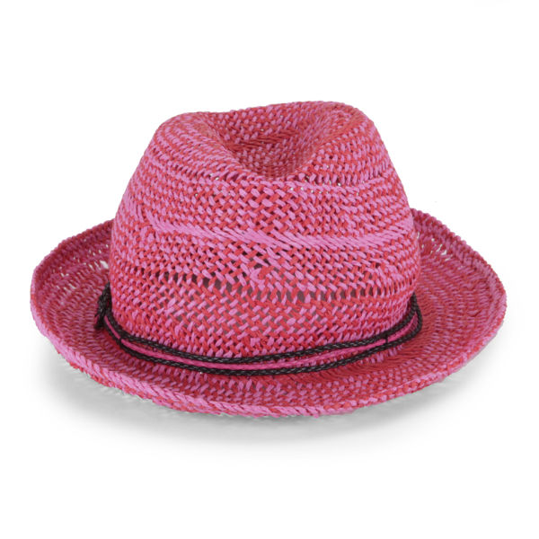 French Connection Daysha Straw Hat - Havana Red/Spring Break