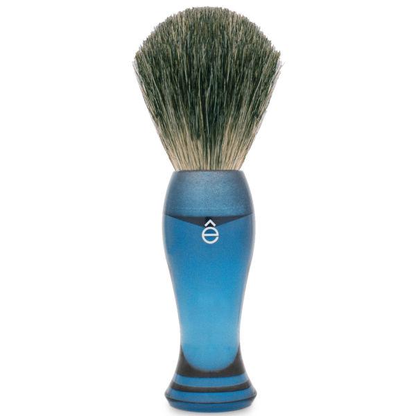 eShave Dachshaar -Rasierpinsel blau