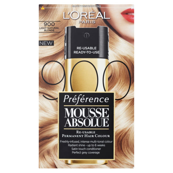 L Oreal Paris Preference Mousse Absolue 900 Light