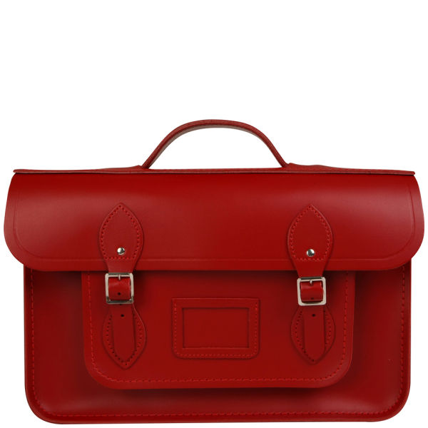 The Cambridge Satchel Company 15 Inch Leather Backpack - Red