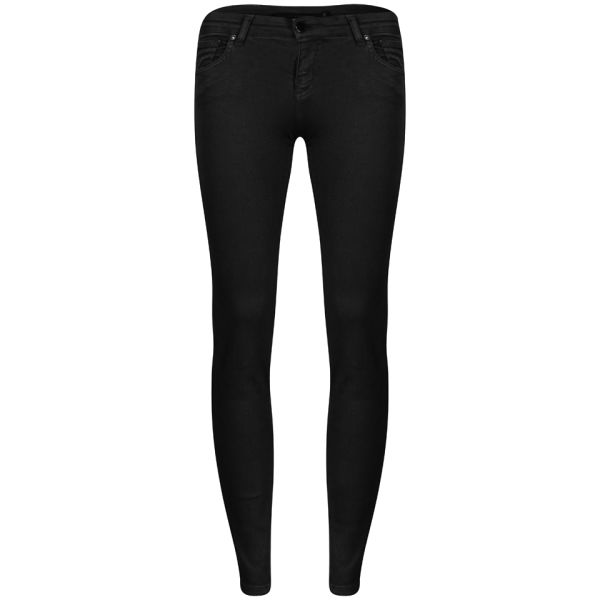 Victoria Beckham Women's Powerskinny Woven Jeans - Anthracite
