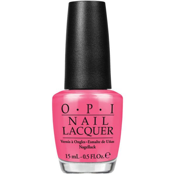 OPI Brazil Nail Lacquer - Kiss Me I'm Brazilian