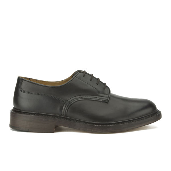Tricker's Men's Woodstock Leather Derby Shoes - Espresso