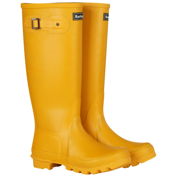 Barbour Women's Town and Country Wellington Boots - Yellow