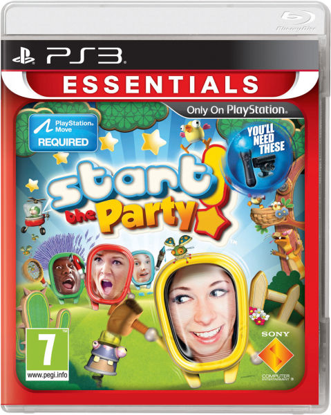 A Game That Starts With A Ps3 : Start the party essentials playstation move ps zavvi