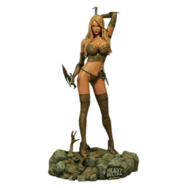 Hollywood Collectibles Heavy Metal Magazine Into The Fog Valkyrie Warrior 1:4 Scale Statue