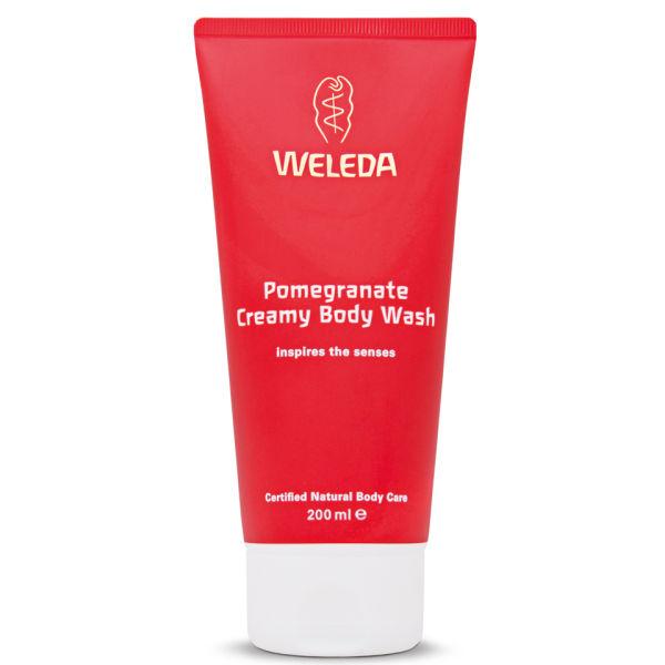 Weleda Pomegranate Creamy Body Wash (200ml)