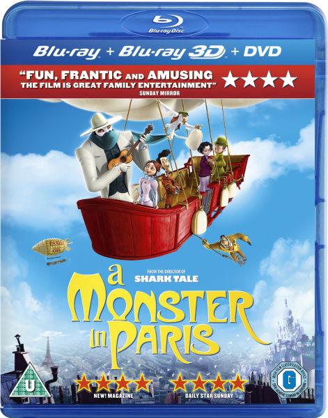 Un Monstre à Paris 3D (+2D)