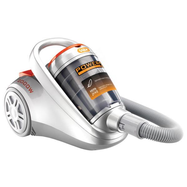 Vax 2000w Power 2 Cylinder Vacuum Cleaner Homeware Zavvi