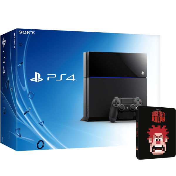 Ps4 New Sony Playstation 4 Includes Wreck It Ralph