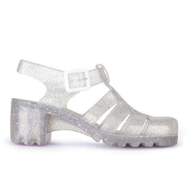 JuJu Women's Babe Heeled Jelly Sandals - Multi Glitter
