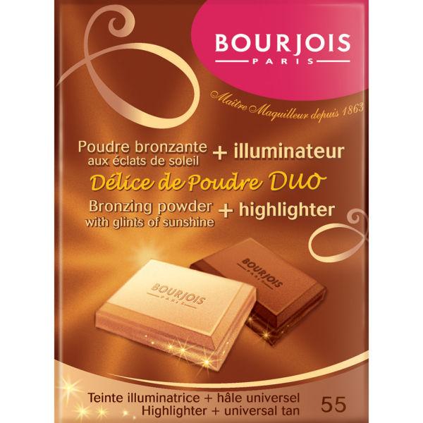 Bourjois Delice De Poudre Bronzer Duo