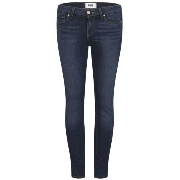 Paige Women's Verdugo Ankle Grazer Transcend Jeans - Blue