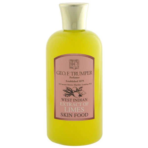 Trumpers Limes Skin Food - 200 ml Travel