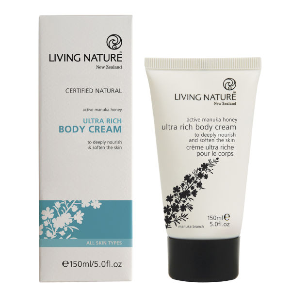 Living Nature Ultra Rich Body Cream (150ml)