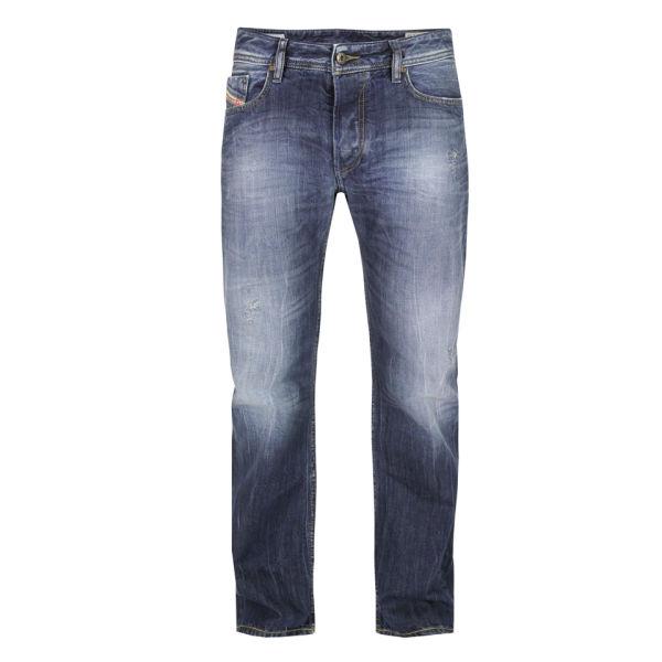 Diesel Men's New Fanker Bootcut 8B9 Wash Jeans - Wash 8B9