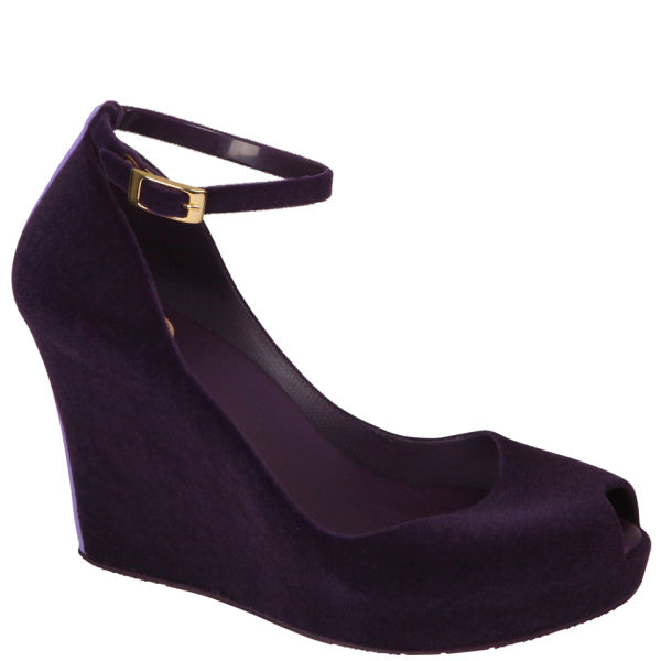 Melissa Women's Patchuli IV Shoes - Purple Flock