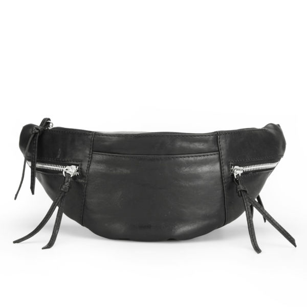 Markberg Women's Malou Leather Bum Bag - Black - Free UK Delivery ...
