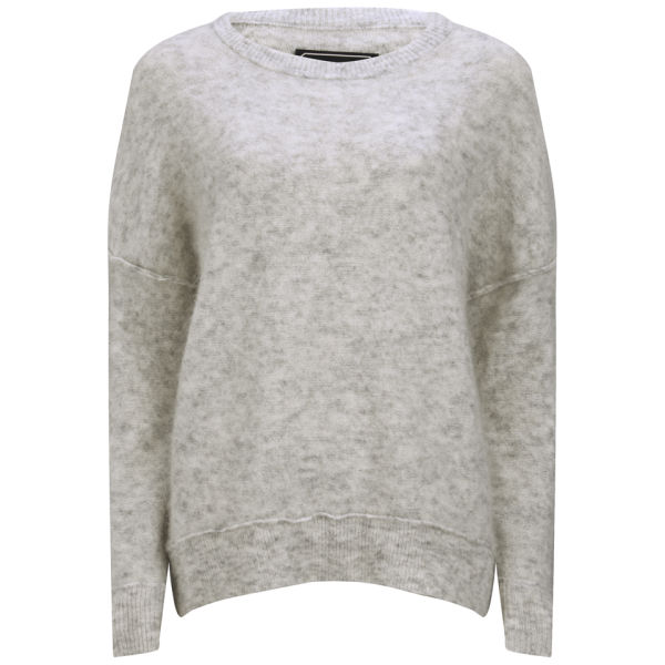 By Malene Birger Women's Drop Shoulder Knit Jumper - Grey