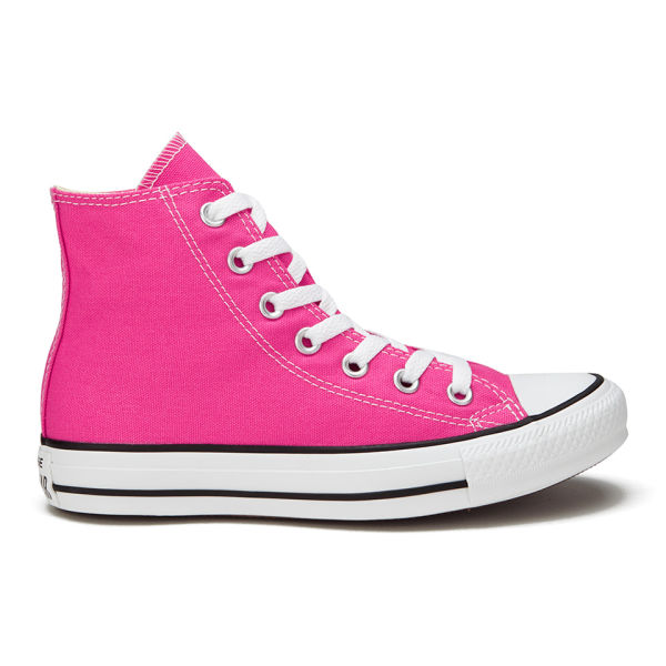 Converse Women's Chuck Taylor All Star Canvas Hi-Top Trainers - Pink Paper