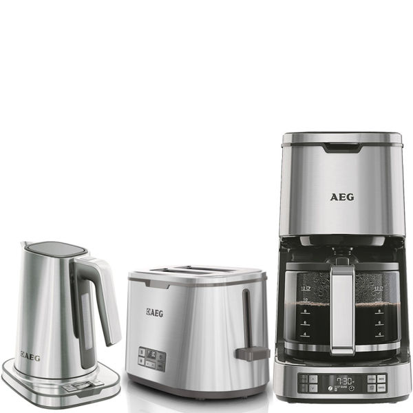 Aeg Series 7 Toaster Kettle And Coffee Machine Bundle
