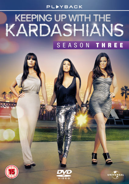 keeping up with the kardashians season 3 dvd