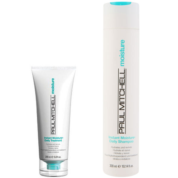 Paul Mitchell Instant Moisture Duo- Shampoo & Daily Treatment