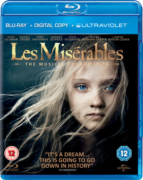 Les Misérables (Includes Digital and UltraViolet Copies)