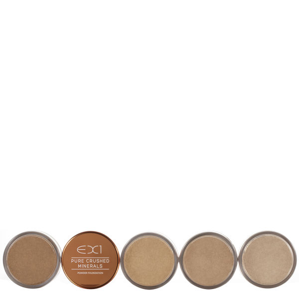 EX1 Cosmetics Pure Crushed Mineral Powder Foundation 8 g (Various Shades)