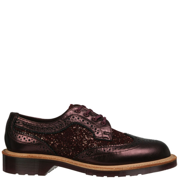 Dr. Martens Made in England Women's Irene English Brogues - Cherry Red