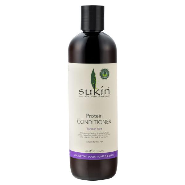 Après-shampooing aux protéines de Sukin (500 ml)