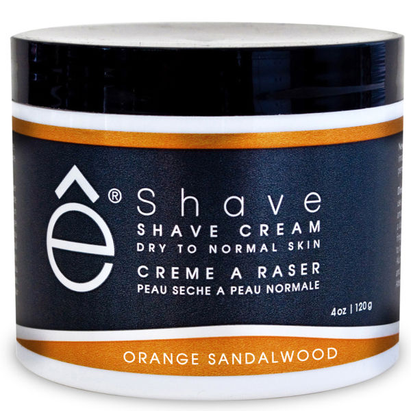 Crème de Rasage e-Shave Orange Sandalwood Shave Cream 118ml