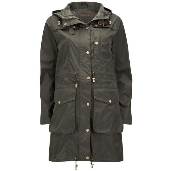 Ilse Jacobsen Women's Wind and Rain Jacket - Army