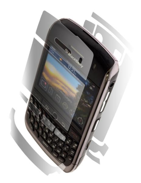 ZAGG - Invisible Shield for Blackberry Curve 8900 Javelin - Full Body