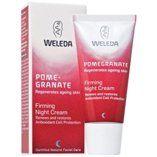 Crème de nuit Fermeté Pomegranate Weleda (30 ml)